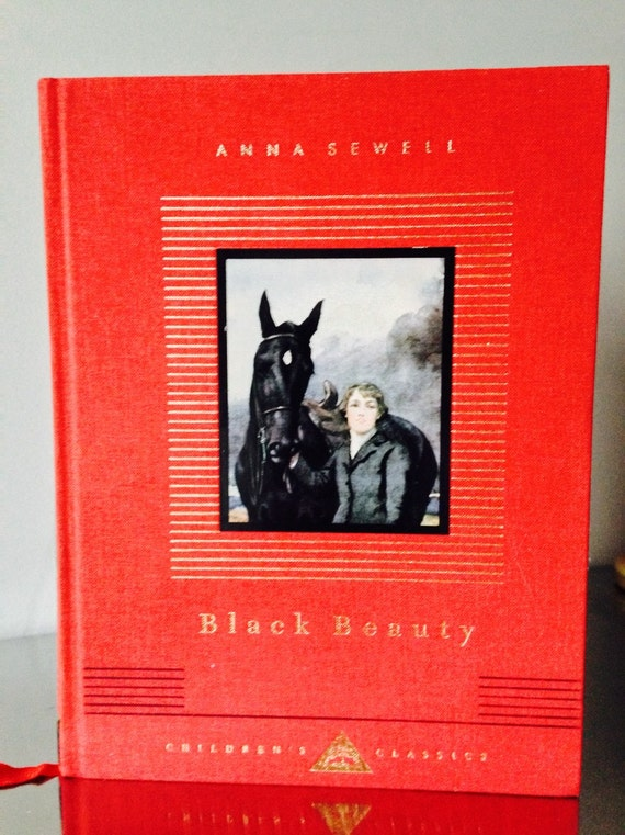 Book Cover Of Black Beauty : Black beauty children s classic hard cover book