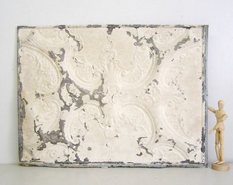 vintage tin tile, antique tin ceiling, architectural salvage