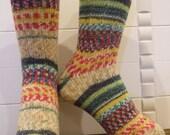 Wool socks size L