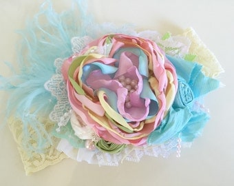 Baby Girl Headband- Matilda Jane Headband- Baby Bow Headband- Baby Headbands- Baby Girl-Couture Baby Headband
