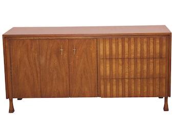 Mid Century Walnut Dresser by John Widdicomb c1960