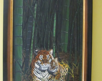 Tigers in the Bamboo