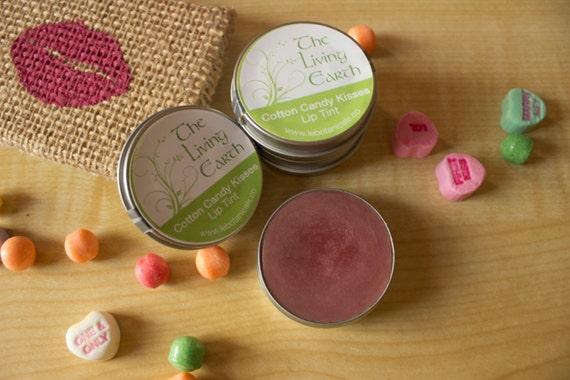 Tinted Lip Balm, Nude Lip Tint,  Sheer Pink Lip Tint, Rosy Pink Lip Tint, CottonCandy Kisses Lip Tint, Lip Gloss, .25oz