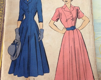 Sewing Pattern Advance 4978-c1948