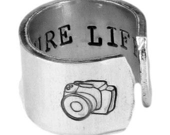 Capture Life - Photography - Adjustable Aluminum Ring