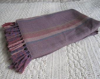 Vintage Wool Throw/Blanket - The Three Weavers