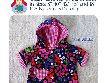Reversible coat for a Waldorf Doll PDF Tutorial INSTANT DOWNLOAD