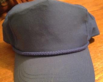 Dark Blue Trucker Cap