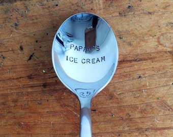 Personalized Ice Cream Spoon