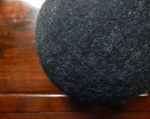 "BALL Cushion,Wool Felted Ball Stool 18"" ~ 22"", Ball Pillow,Ball Stool, Ball Arm Rest,Ball Pouf,Wool Ball Pouffee, Slow design -momoish made."