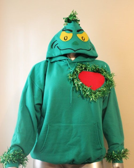 Childrens and toddler size grinch christmas sweater grinchmas ugly