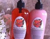 Very Cherry Almond Hair Joy Shampoo and Conditioner Ultra Premium Dynamic Duo Set SLS and Paraben free Pura Gioia