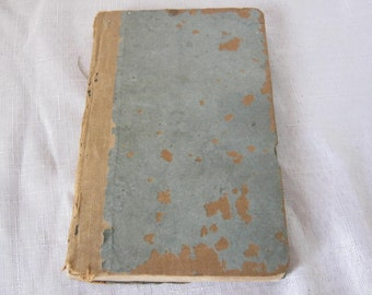 Antique Noah Websters The Elementary Spelling Book 1834 Edition