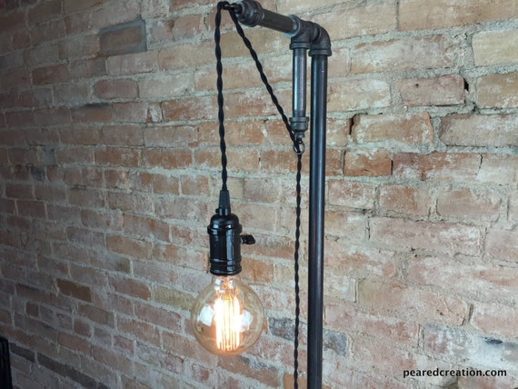 minimalist floor lamp industrial lighting pendant edison. Black Bedroom Furniture Sets. Home Design Ideas