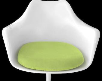 Slip-on Cushion Cover for Saarinen Tulip Arm Chair (Lime)
