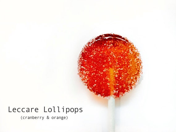Cranberry and Orange Lollipops // Happy Holidays // Complete with ...