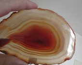 Stone Coaster - Large Druzy Agate Slice