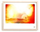 "Surf Photo Art Print ""Flats"" - Borrowed Light Series"