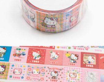 MT Washi Masking Deco Tape SANRIO Hello Kitty