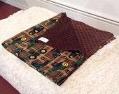 John Deere mini blanket