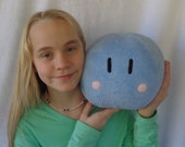 "Dango Plush Pillow 7"" x 9"" Anime Plushie, Cuddle Soft Fleece Hand Made Plush Toy Pillow"