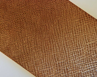 """Textured Stock NuGold Jewelry Metal 3"""" wide X 12"""" long (additional lengths available)"""