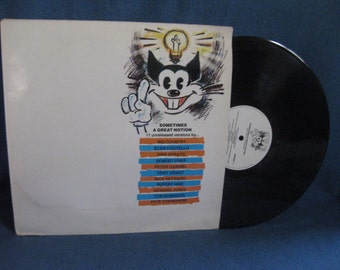 """Vintage, """"Sometimes A Great Notion"""", 80s Rock, New Wave, Party Music Compilation, Vinyl LP, Record Album, Dire Straits, Peter Gabriel"""
