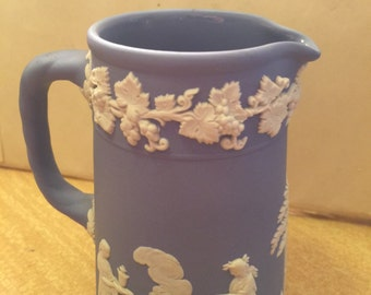 Beautiful  Wedgewood Powder Blue Creamer