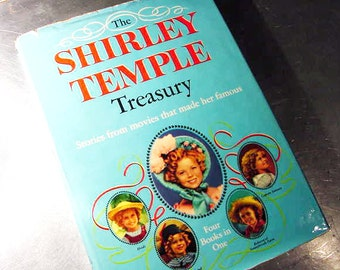 Vintage SHIRLEY TEMPLE TREASURY Book Vintage Book