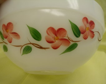 Fire King Peach Blossom Bowl