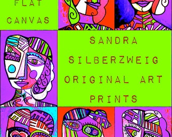 SILBERZWEIG ORIGINAL Art PRINT >< Archival, High Quality, Professional, Flat Canvas 16 x 20 inches < You - Pick - Your - Print > Any Image!