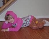 Baby Hoodie Toddler Hoodie - Reglan Hoodie - size 12 months - 5/6 - Custom Order