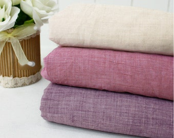 """Soft Cotton Gauze - Peach, Purple or Violet - 59"""" Wide - By the Yard 72770"""
