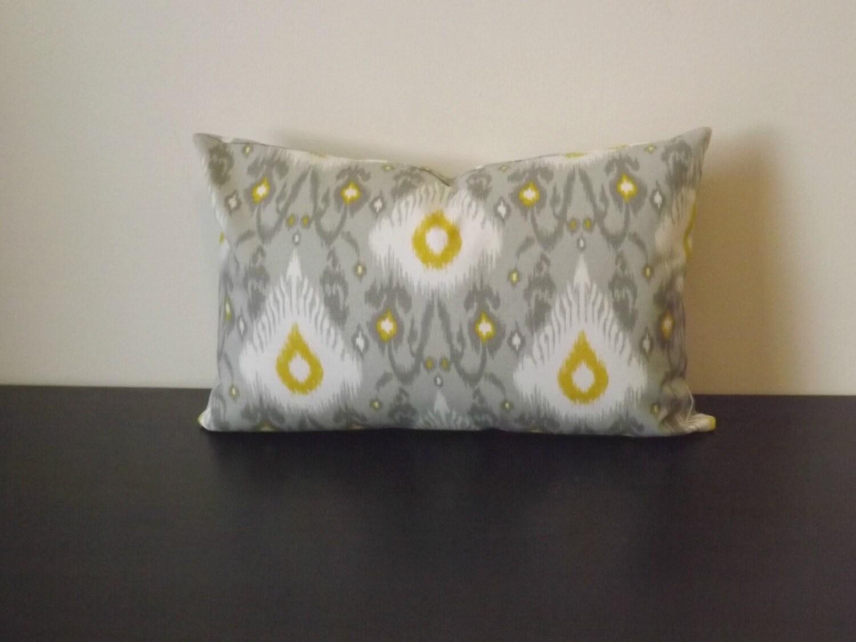 Ikat Lumbar Pillow Cover Decorative Throw Pillow Decor