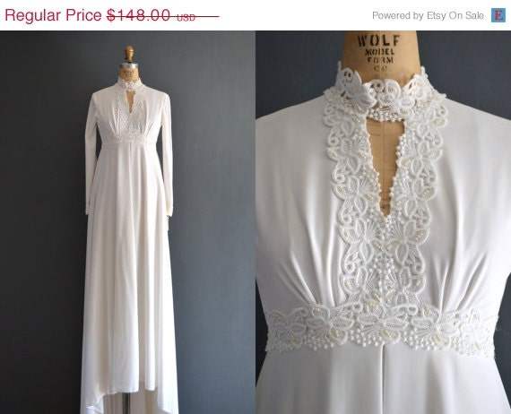 70s wedding dress 1970s wedding dress tabitha by for 1970s wedding dresses for sale