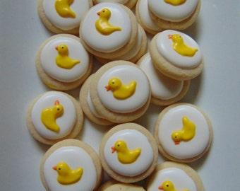 Bite Size Duck Cookies