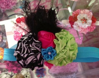 Sassy Zebra Headband