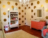 """8"""" Polka Dot Vinyl Wall Decals (different quantities available)"""
