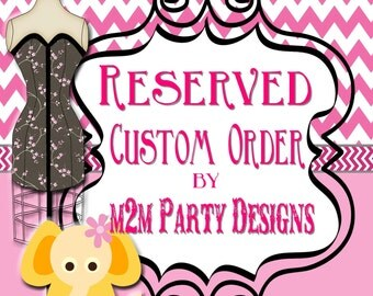 Custom Order Invitation, Baby Shower, Birthday, Bridal Shower, Print at Home
