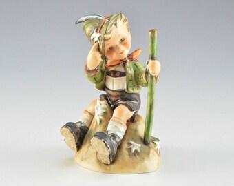 Goebel Hummel 1955 Mountaineer Figurine - Little Boy