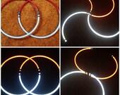 CUSTOM // *REFLECTIVE* Mini Hoops/S-Staffs