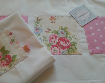 Set of Sheet and Pillow for Baby Bed