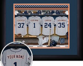 PERSONALIZED & FRAMED MLB Detroit Tigers Sports Print