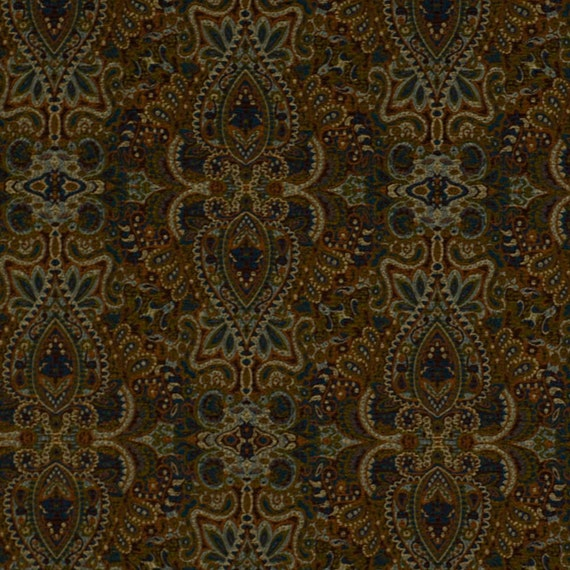 Multicolor Ikat Upholstery Fabric Teal Red Fabric Ikat
