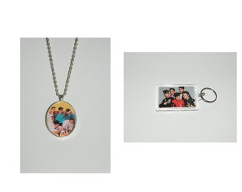 New Kids on the Block NKOTB Pendant Necklace and/ or Keychain