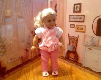 Teddy Scarf for 18 inch Doll/American Girl Doll