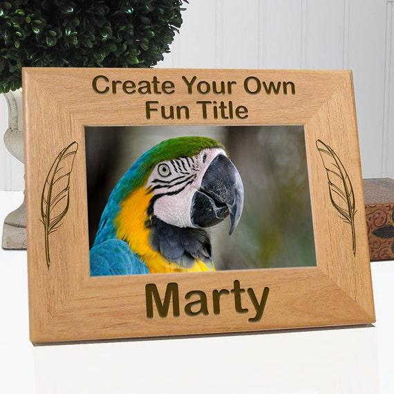 Create Your Own Bird Picture Frame