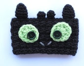 Crochet Toothless Dragon Coffee Cup Cozy