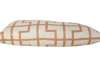 Spark Bleecker Schumacher Pillow Cover- Both Sides