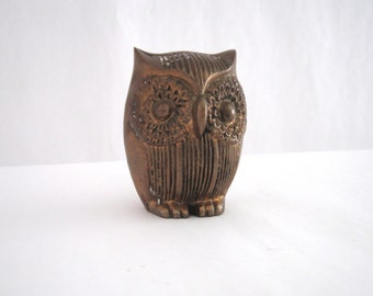 Little Brass Owl
